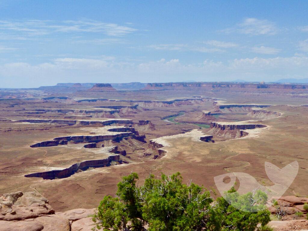 Canyonlands National Park bei Moab, Utah