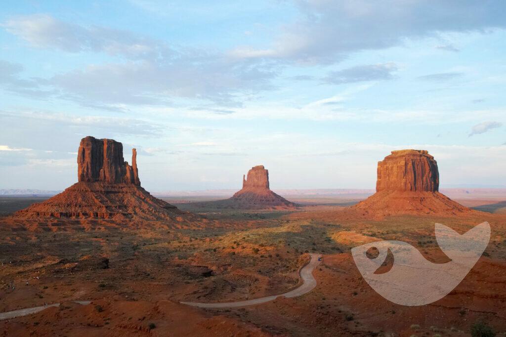 Monument Valley mit Handschuh-Formation
