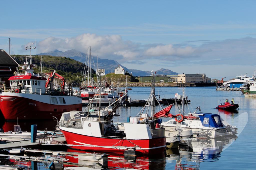 Hafen von Bodø, Norwegen