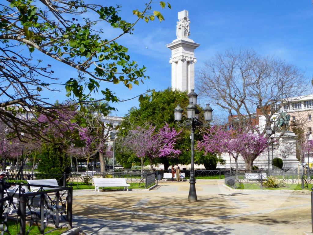 Plaza de Espana in Cádiz