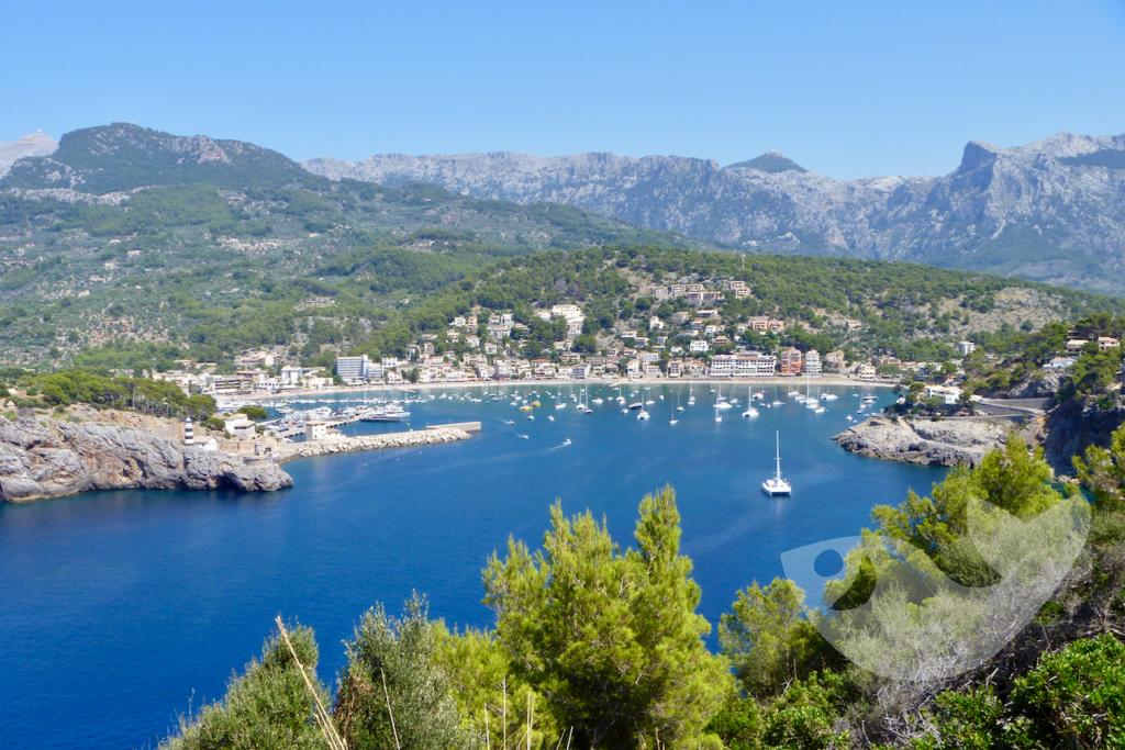Aussichtspunkte auf den Port de Sóller, Mallorca