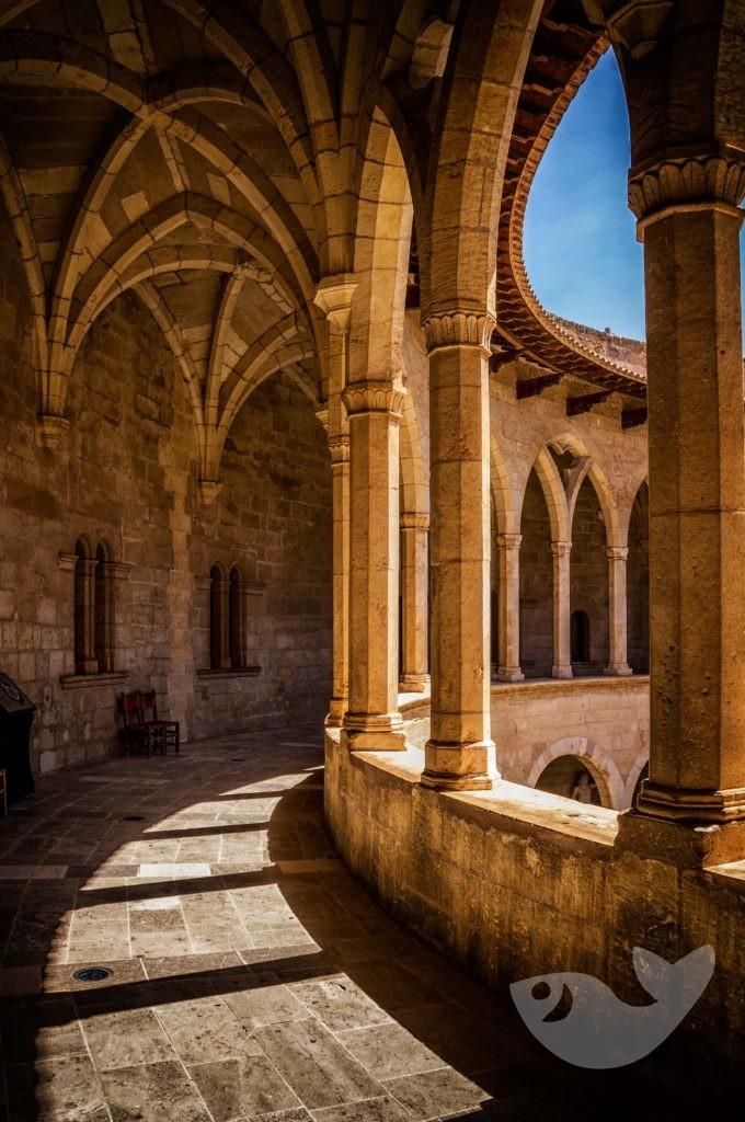 Innenhof vom Castell de Bellver in Palma