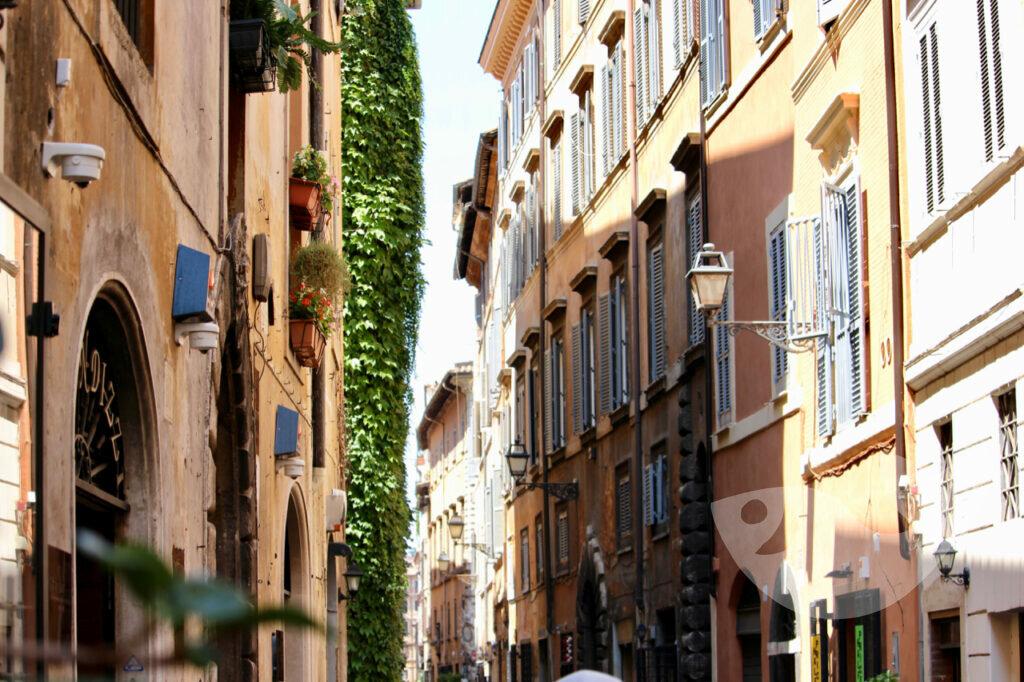 Spaziergang zu Roms Sehenswürdigkeiten