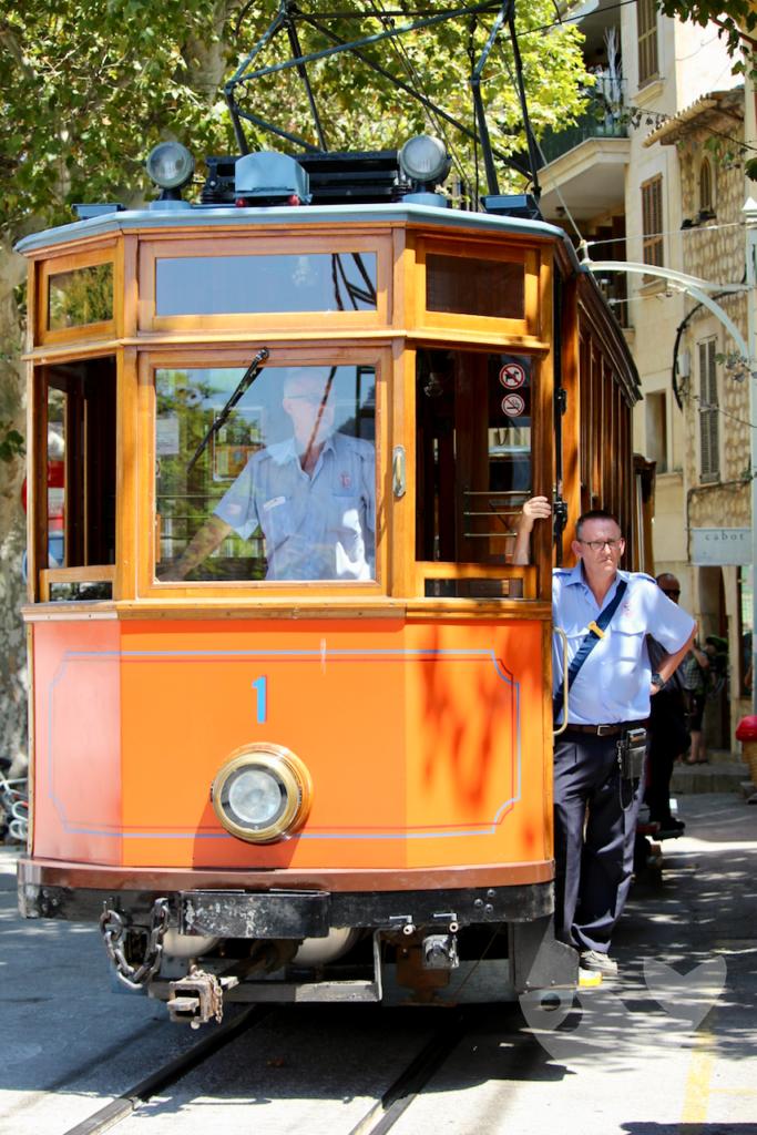 Tramvia de Sóller – Straßenbahn auf Mallorca