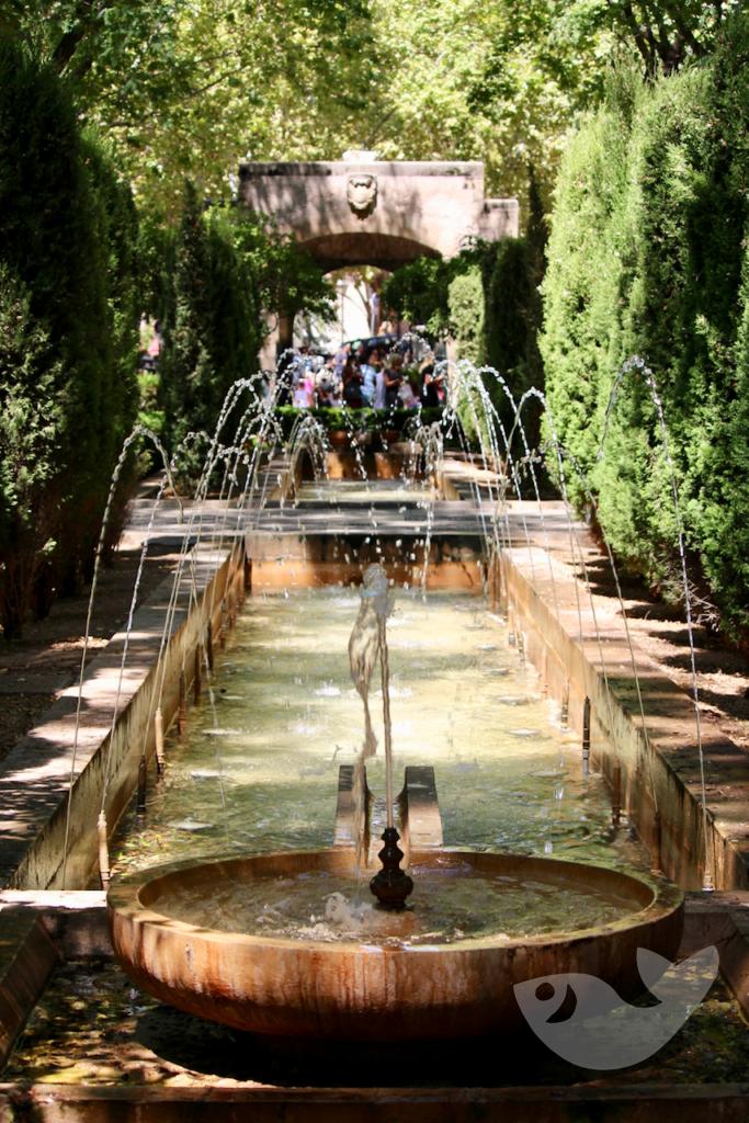 Wasserspiele der Königlichen Gärten von Palma