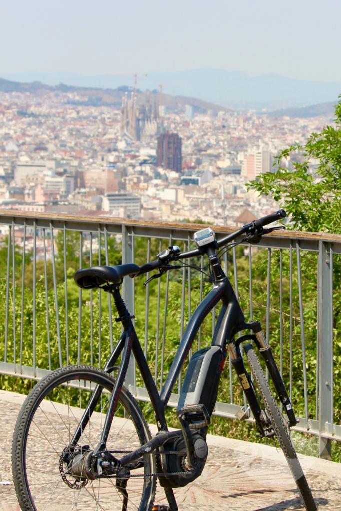 Barcelona mit dem Pedelec