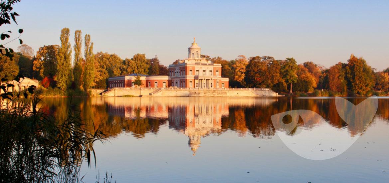 Das Marmorpalais am Heiligen See in Potsdam