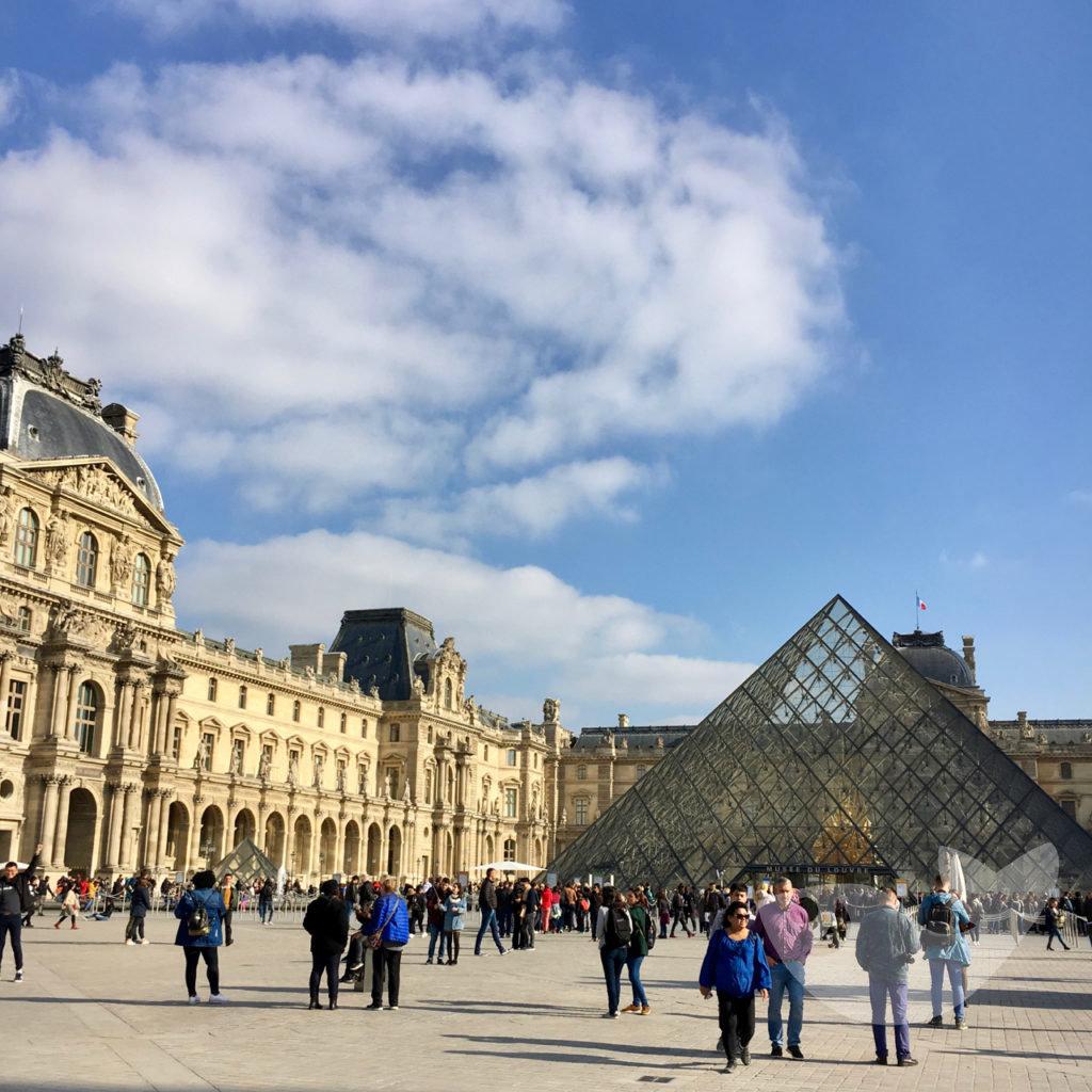 Der Louvre in Paris, Kunstmuseum