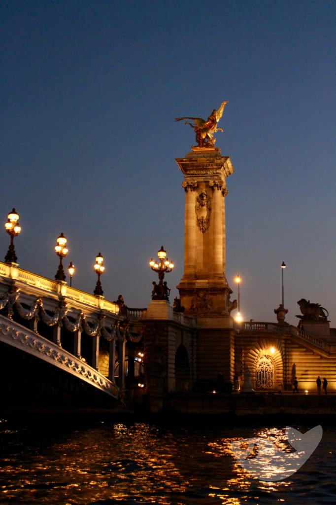 Brücke Alexander III, Paris