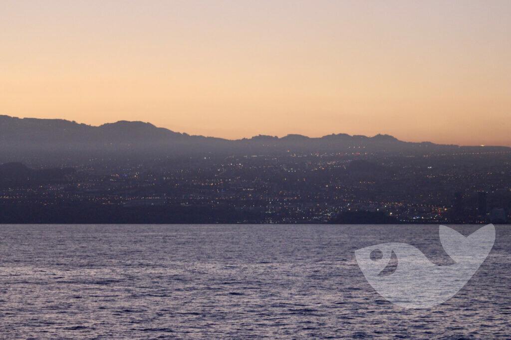 AIDAstella verlässt den Hafen von Santa Cruz de Tenerife