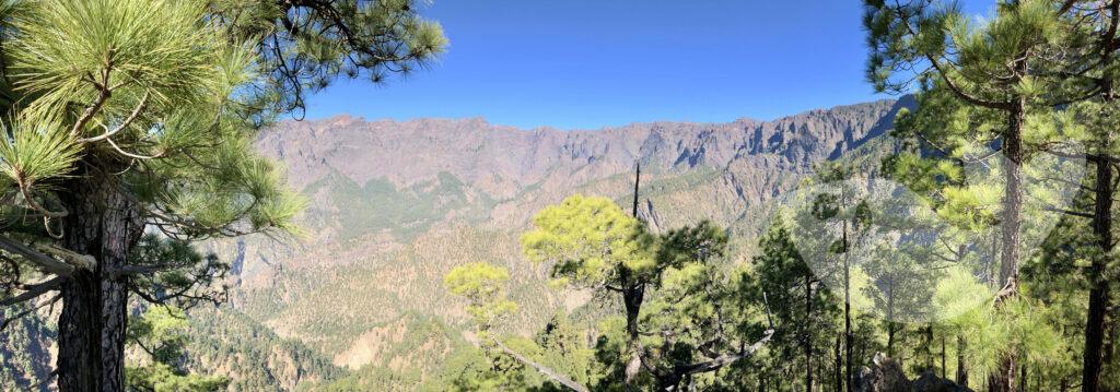 Mirador Lomo de Las Chozas, La Palma