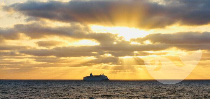 Traumhafter Sonnenaufgang auf Lanzarote